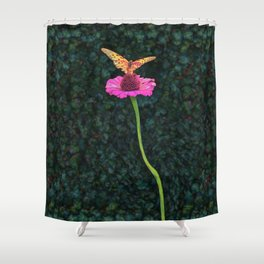 Dave's Butterfly Shower Curtain
