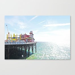 Seaside Excursion Canvas Print