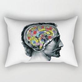 Brain colors fashion Jacob's Paris Rectangular Pillow