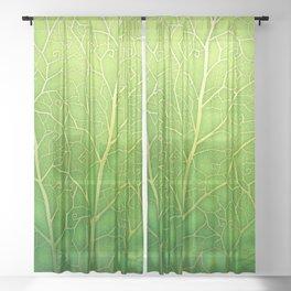 lizard Sheer Curtain