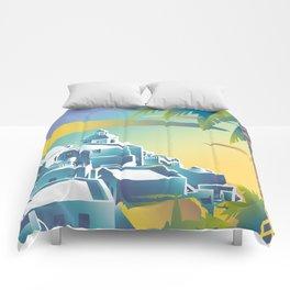 Greece 2 Comforters
