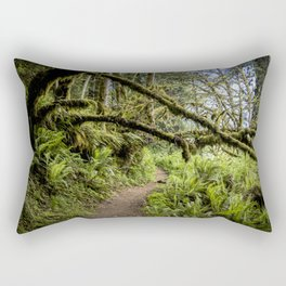 The old forest. Rectangular Pillow
