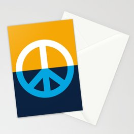 Peace Symbol - People's Flag of Milwaukee Stationery Cards