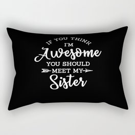 Great Sister Rectangular Pillow
