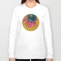 heels Long Sleeve T-shirts featuring HEAD OVER HEELS by INA FineArt