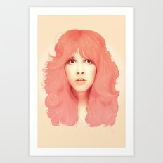 Stevie Nicks Illustration Art Print