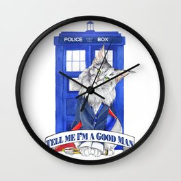 Doctor Mew 12th Doctor Wall Clock