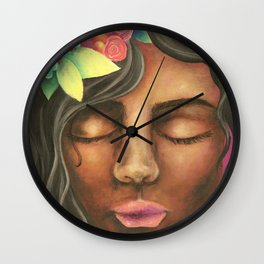 Fuity Lady Wall Clock