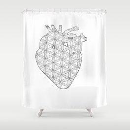 Everlasting Heart Shower Curtain