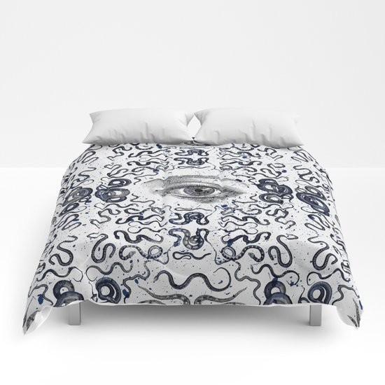 DEVIL EYE Comforters