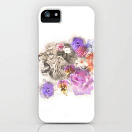 Lion Spirit iPhone Case