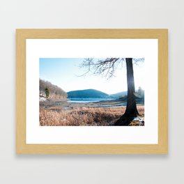 Morrison Trail, Allegheny Reservoir, PA Framed Art Print