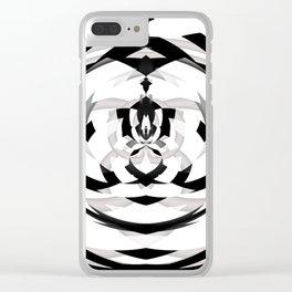 Unwind Spiral 2 Clear iPhone Case