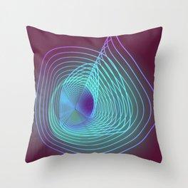 Disruption Throw Pillow