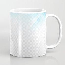 Blue geometric technological background Coffee Mug
