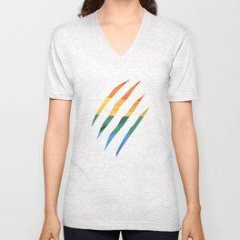 Fam Scratch (LGBT) Unisex V-Neck