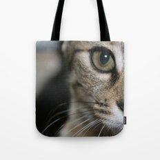 Eye of a Tiger... Tote Bag