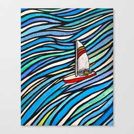 Wind Over Water Canvas Print