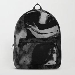 Christina Death - Black & White Backpack