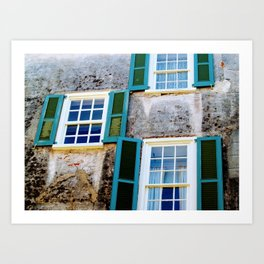 Rooms with a View Art Print