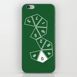 Unrolled D10 iPhone Skin