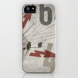 HMK Bird Bolts 6449 iPhone Case