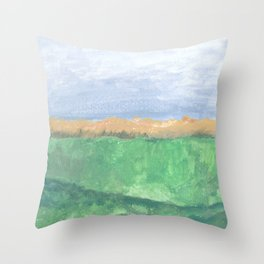 Autumn Ocean Throw Pillow