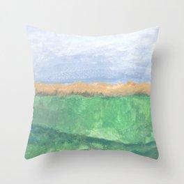 Autumn Ocean Throw Pillow