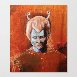 Angry Andorian Canvas Print