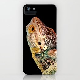 BEARDED DRAGON iPhone Case