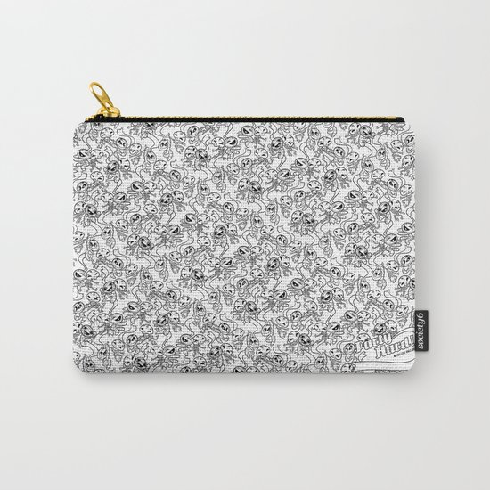 Mummy & Skeleton II Carry-All Pouch