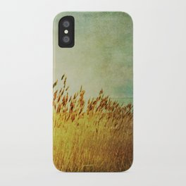 Winter Gold iPhone Case