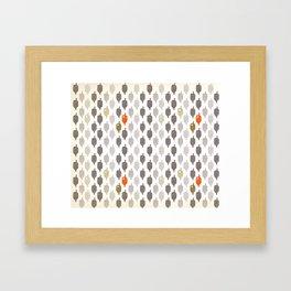 A hole Framed Art Print