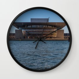 Copenhagen Opera House Wall Clock