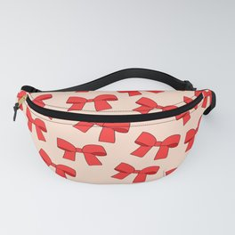 Cute Bows Fanny Pack
