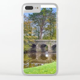 The Old Stone Bridge Clear iPhone Case
