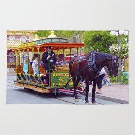 Horse-Drawn Trolley I Rug