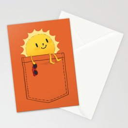 Pocketful of sunshine Stationery Cards