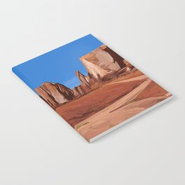 Desert Landscape Notebook
