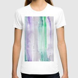 10     190907   Watercolor Abstract Painting T-shirt