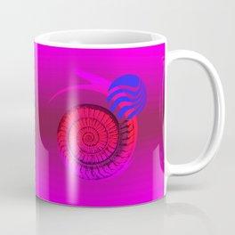 DRUNKEN SNAIL - Simple Abstract Illustration Coffee Mug