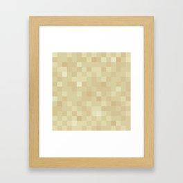 MC Sand Framed Art Print