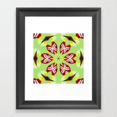 Kaleidoscope 'K1 SQ' Framed Art Print