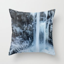 Some things are worth freezing for Throw Pillow