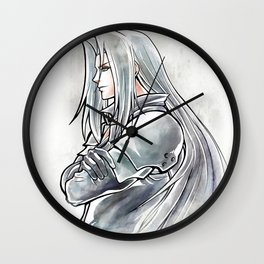 Sephiroth Artwork Final Fantasy VII Wall Clock