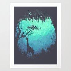 After Cosmic Storm Art Print