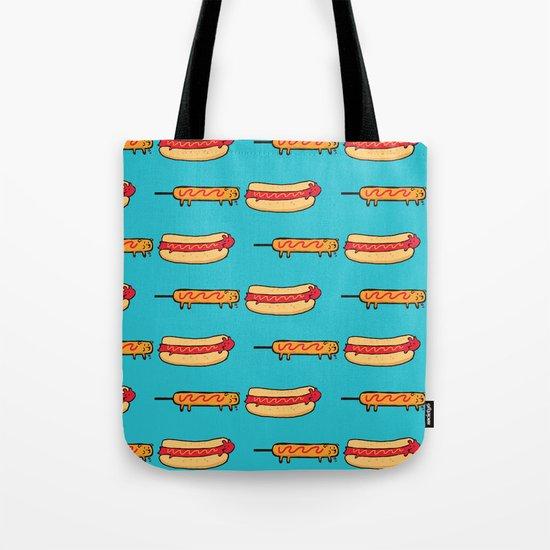 Dog Eat Dog World Tote Bag