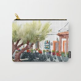 Front garden in Haraki Carry-All Pouch