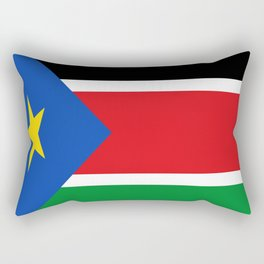 Flag of south sudan Rectangular Pillow