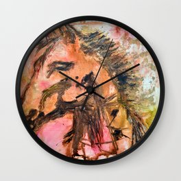 Grace and Freedom Wall Clock
